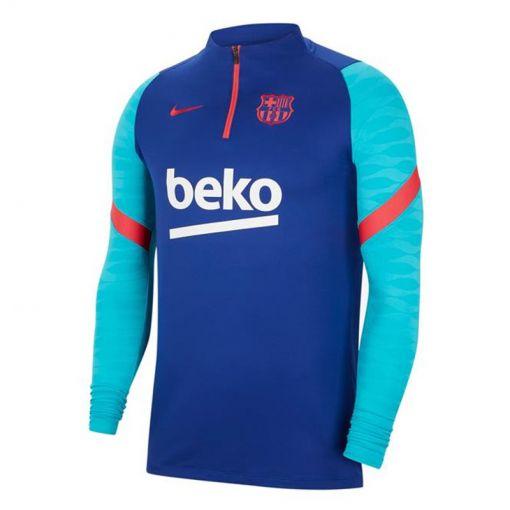 FC Barcelona heren trainingstop - 456 DEEP ROYAL BLUE/LT FUSION
