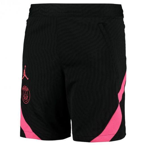 PSG junior short trainings - 010 BLACK/HYPER PINK/HYPER PIN