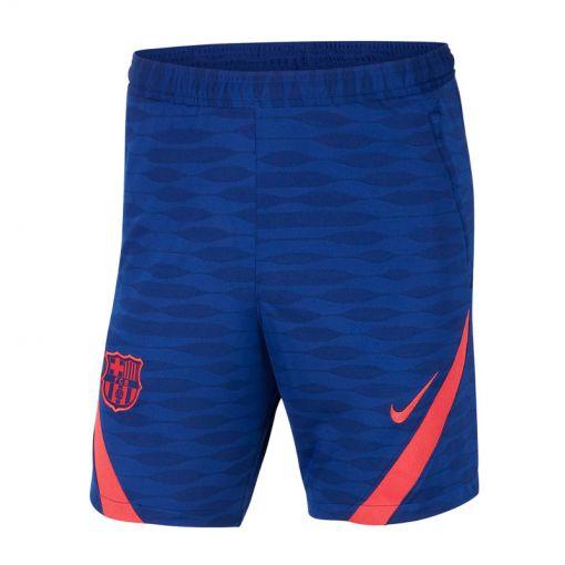 FC Barcelona junior trainings short - 455 DEEP ROYAL BLUE/LT FUSION