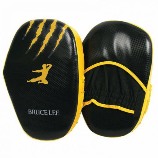 Bruce Lee Signature Coaching Mitts - Zwart