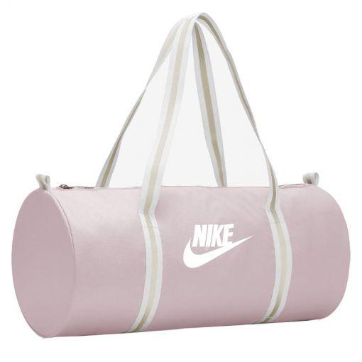 Nike Heritage Duffel Bag,CRIMSON TI - 516 Plum Chalk