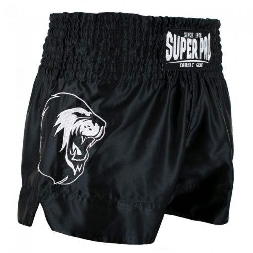 SuperPro Thai en Kickboksshort Hero - Zwart/Wit