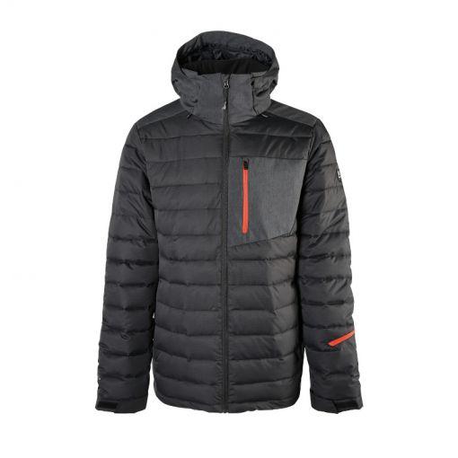 Brunotti heren jas Trysail Mens Snowjacket - Zwart