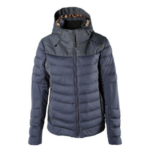 Brunotti dames jas Jaciano-Demin Women Snowjacket - licht blauw