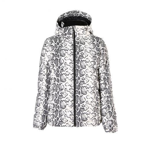 Mikala-AO-JR Girls Snowjacket - Wit