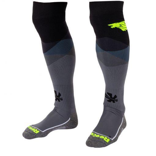 Reece Amaroo Socks - 8410 Black-Neon Yellow