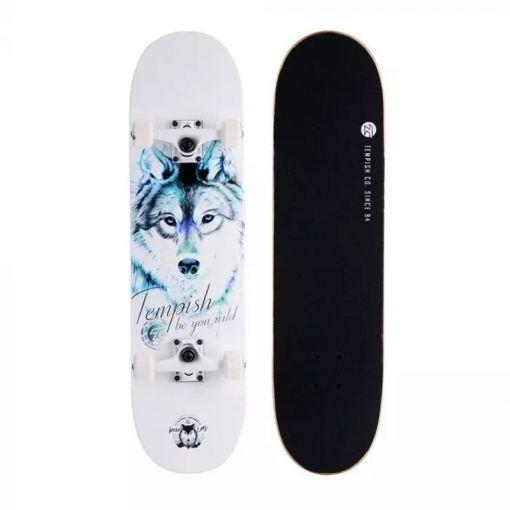 Tempisch Wolf Skateboard - Blue Wolf
