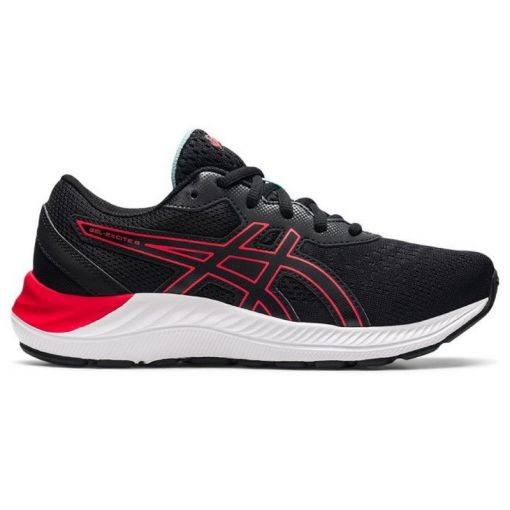 GEL-EXCITE 8 GS - 009 BLACK/ELECTRIC RED
