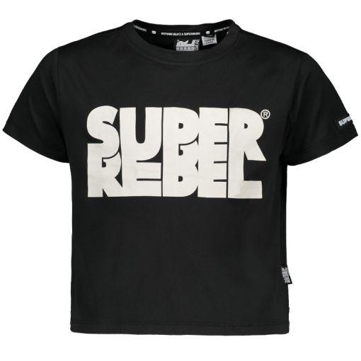 Superrebel T-Shirt - Zwart