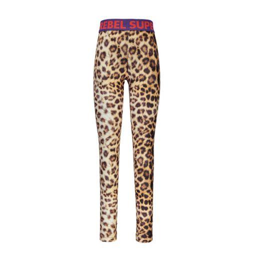 Superrebel Leopard Tight Pants - 988 Leopard