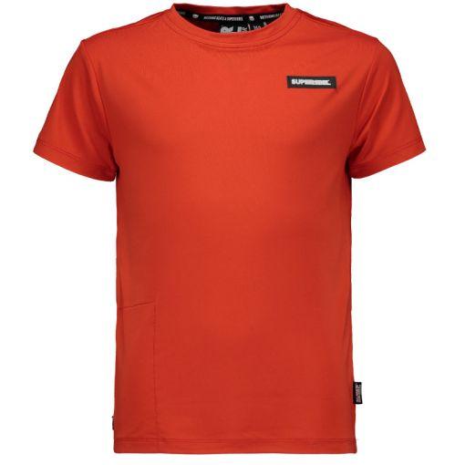 Superrebel Sporty T-Shirt - Rood