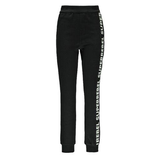 Superrebel Sweat Trousers - Zwart