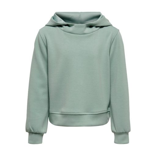 ONPDESS CROPPED HOOD SWEAT- GIRLS - 198769 Gray Mist