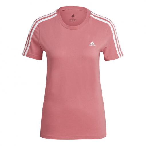 Adidas dames t-shirt W 3S Tee - Hazros/White