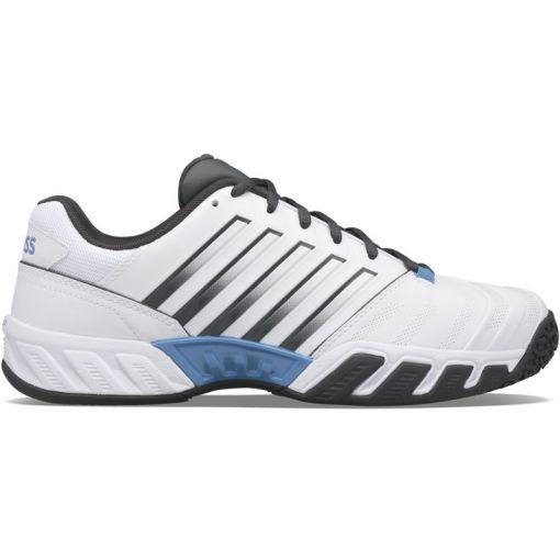 K-Swiss heren tennisschoen Bigshot Light 4 OMNI - STD White-Dark-Shadow-Swedish-
