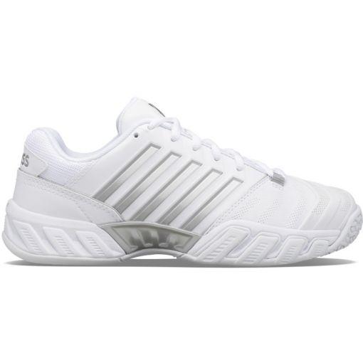 K-Swiss dames tennisschoen Bigshot Light 4 Omni - STD White-High-Rise-Silver