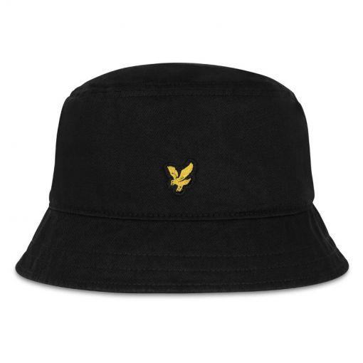 Cotton Twill Bucket Hat - 572 True Black