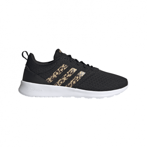 Adidas dames sneaker Qt Racer - Cblack/Hazbei
