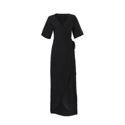Wrap Dress - Zwart