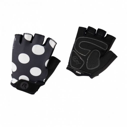 DS Wielerhandschoen Sprinkle - Black/ Wit