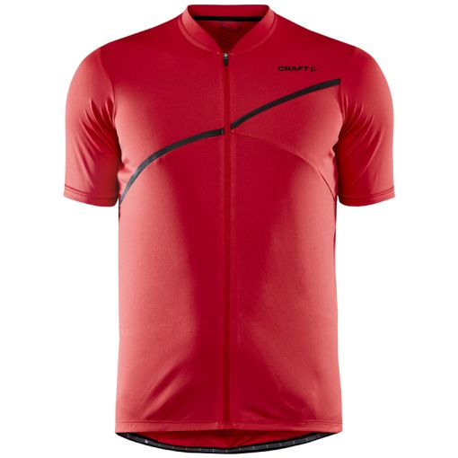 Core Endur Logo Jersey M - 430000 Bright Red
