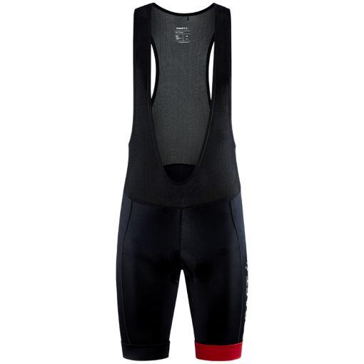 Core Endur Bib Shorts M - 999430 Black/Bright Red