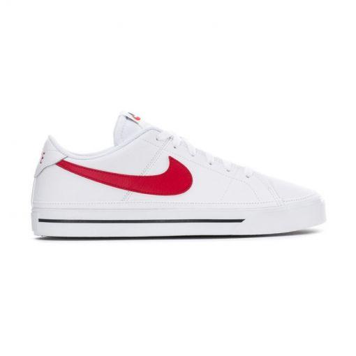 Nike Court Legacy Mens Shoe,WHITE - 105 White/University Red