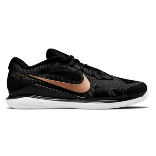 Nike dames gravelschoen W Air Zoom Vapor Pro Clay - 008 BLACK/MTLC RED BRONZE-WHIT