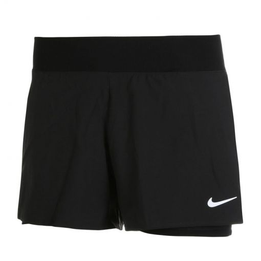 Nike dames short Court Dri-fit Victory - Zwart