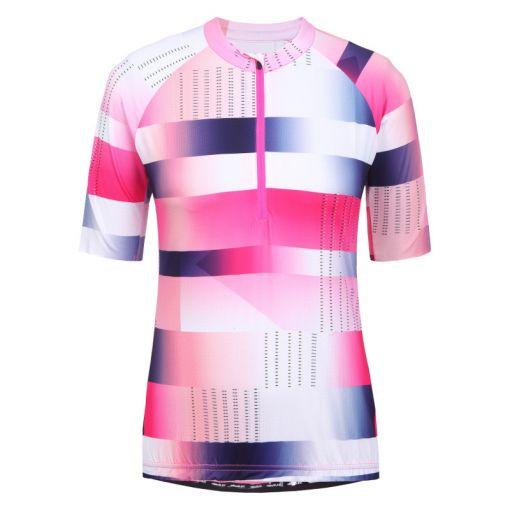 Rukka dames fiets shirt Rovik - Roze