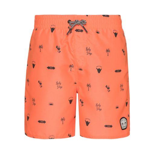 Protest jongens zwemshort Jorn - Oranje