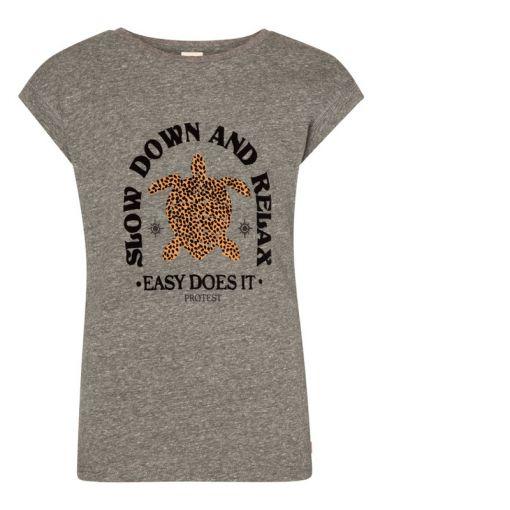 Protest meisjes beach shirt Raja - Zwart