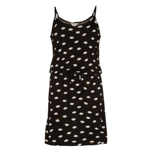 Protest meisjes beach jurk Pixie - Zwart