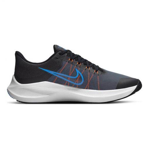 Nike heren hardloopschoen Winflo 8 - 007 DK SMOKE GREY/BLACK-COAST-