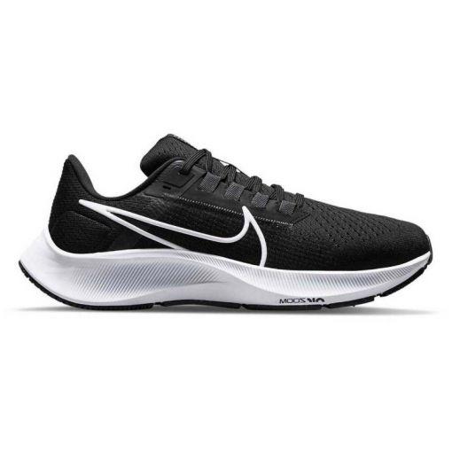 Nike heren hardloopschoen Air Zoom Pegasus 38 - 002 BLACK/WHITE-ANTHRACITE-VOL