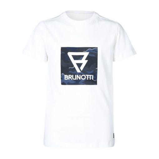 Tim-Print-JR Boys T-Shirt - 1001 Snow