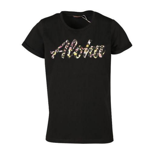 Oulinas-Aloha Women T-shirt - Antraciet