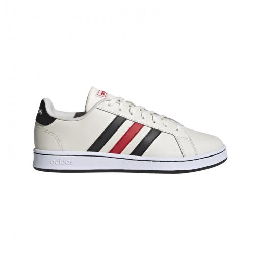 Adidas heren sneaker Grand - Cwhite/Cblack