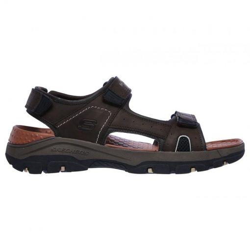Skechers heren sandaal Tresman Hirano - bruin