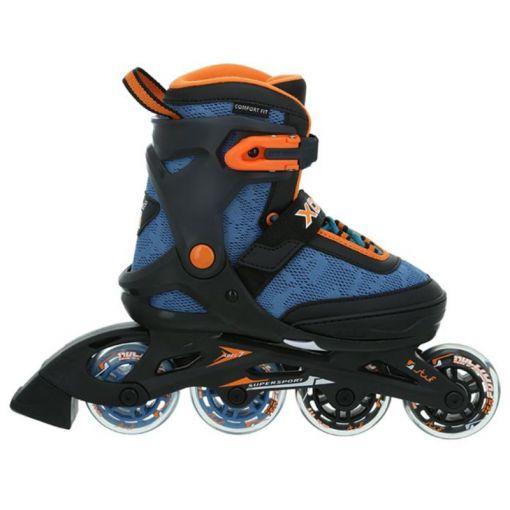 Xoom 2 Boy - 9527 Schwarz/Blau/Orange