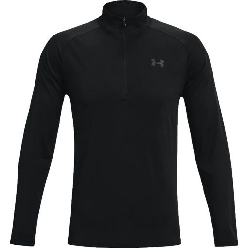 UA Tech 2.0 1/2 Zip - Zwart