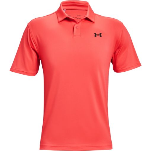 UA T2G Polo - 690 Venom Red