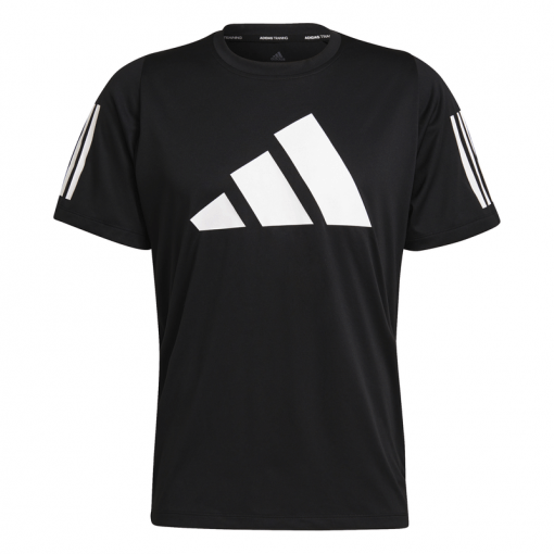 Adidas heren t-shirt FL3 Bar Tee - Zwart