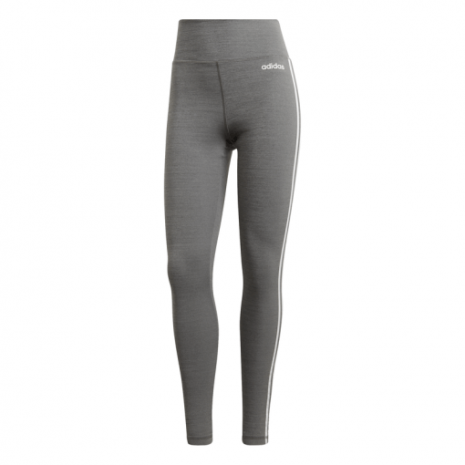 Adidas dames tight W D2M 3S HR LT - DGRey