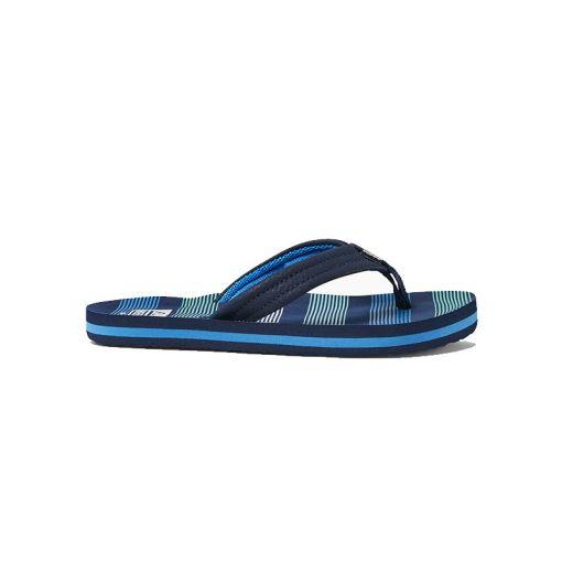 Reef jongens slippers Kids Ahi - Deep Sea Stripes