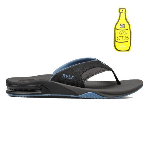Reef heren slipper Fanning - Grey/Light Blue