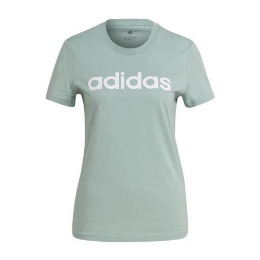 Adidas dames t-shirt W Lin Tee - Haazgrn