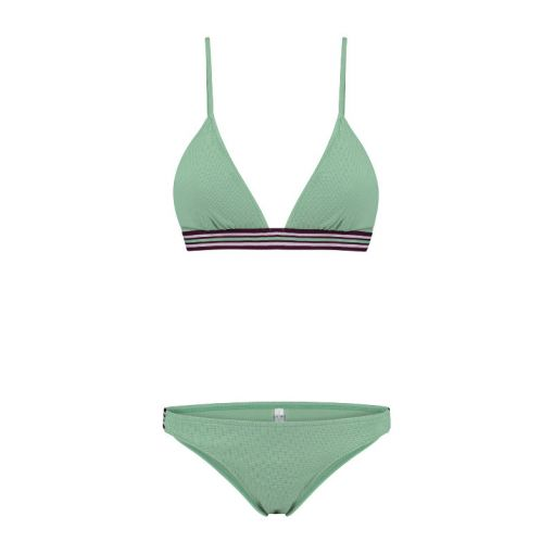 Ladies Flexible Romy Triangle Bikini - 777 Dusty Pistache Green