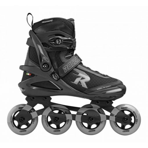 Roces heren inline skate Pic Tif 80 - Zwart