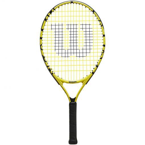 Wilson junior tennisracket Minions Jr - Zwart